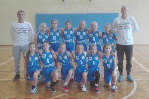 Zwycięstwo Kartuz, porażka Sierakowic w pomorskiej lidze koszykówki dziewcząt U12