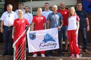 Kartuscy sportowcy nagrodzeni przez burmistrza za reprezentowanie miasta na mistrzostwach Europy