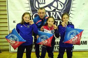 Dziewczęta z Cartusii Kartuzy wróciły z kompletem zwycięstw i złotych medali z Wojnowa