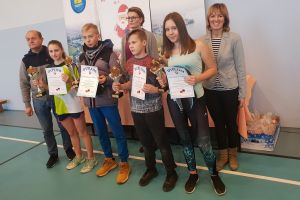 Rakietą z Mikołajem 2018. Uczniowie po raz dziesiąty zagrali w Gminnym Turnieju Tenisa Stołowego w Goręczynie