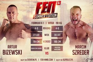 Artur Bizewski powalczy na gali MMA i K-1 FEN 13 Summer Edition w Gdyni o piąte zwycięstwo na zawodowym ringu