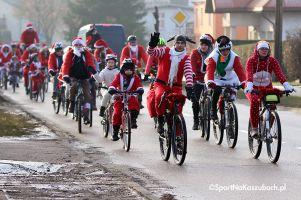 Mikołaje na Rowerach 2018. W niedzielę w Kartuzach świąteczna parada na dwóch kółkach