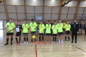ZKiW Stężyca wygrał Powiatową Ligę Gimnazjalną w Piłce Nożnej Halowej