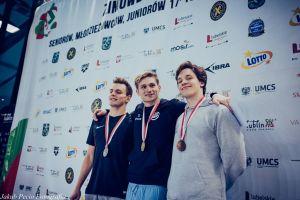 Jakub Skierka z rekordem życiowym i trzecim medalem Zimowych Mistrzostw Polski w Pływaniu