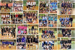 Przodkowska Liga Piłki Siatkowej Kobiet. Zdjęcia drużynowe zespołów występujących w sezonie 2018/2019