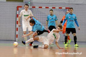 Futsal Club Kartuzy - KS Futsal Oborniki. Zespół z Kaszub odpadł z Halowego Pucharu Polski