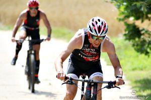 Kartuzy Triathlon MTB 2016 Złota Góra - zdjęcia z II etapu, czyli jazdy na rowerze