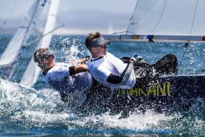 Igor Tarasiuk i Bartosz Sadowski zakończyli Mistrzostwa Świata Klasy Vaurien 2016 w Portugalii