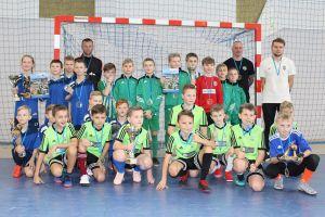 Futsal Cup w Kiełpinie. FC Gowidlino i Amator Kiełpino zagrały w finale turnieju rocznika 2008