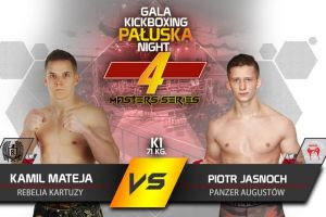 Kamil Mateja i Nikodem Bigus powalczą na gali Pałuska Kickboxing Night w Suwałkach