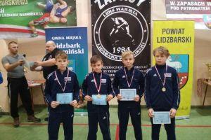 Cztery medale zapaśników Moreny Żukowo w pierwszych zawodach sezonu w Lidzbarku Warmińskim