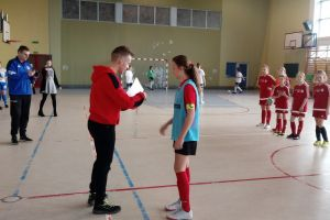 Pantery Sierakowice i GKS Żukowo liderkami Pomorskiej Ligi Halowej Dziewcząt