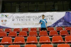 Ligowcy Lisa Sierakowice zagrali dwa mecze, Samuel Michna walczył w GP Polski Żaków