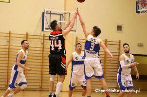 KS Bat Sierakowice - MTS Basket Kwidzyn. Pewne zwycięstwo gospodarzy, powrót dwóch zawodników