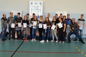 Dwie Rakiety 2019. Tenisiści stołowi zagrali w powiatowym etapie turnieju w Goręczynie