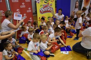 Aktywne maluchy bawiły się na imprezie Orlen Przedszkoliada Tour