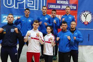 Rafał Jaszczuk, Armin Wilczewski i Adam Kryszewski z medalami turnieju Slovak Open