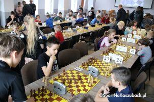 Wysoka frekwencja na Mistrzostwach Gminy Somonino w Szachach