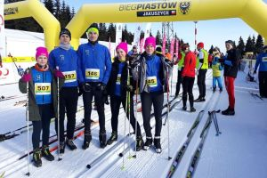 Zawodnicy Cartusii Kartuzy startowali w Festiwalu Narciarstwa Biegowego i 43. Biegu Piastów