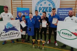 Cztery medale kadetów Rebelii w mistrzostwach Polski. Złoci Nikola Zaborowska i Armin Wilczewski