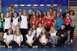 Kamienica Szlachecka wygrała Igrzyska Młodzieży Szkolnej w Piłce Ręcznej Dziewcząt w Sulęczynie