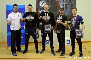 Osiem medali dla Rebelii w Mistrzostwach Polski w Kick - Boxingu Kick Light w Kartuzach