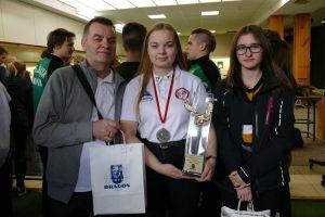 Magdalena Malotka - Trzebiatowska pobiła rekord Polski i zdobyła złote medale na zawodach w Siedlcach