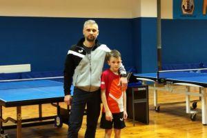 Anna Draws, Dawid Michna i Samuel Michna wygrali Wojewódzkie Turnieje Klasyfikacyjne w Tenisie Stołowym