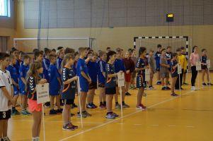 Gospodarze wygrali I Turniej Piłki Ręcznej o Puchar Dyrektora Szkoły Podstawowej w Baninie