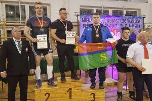 Patryk Borzestowski z Raduni Stężyca brązowym medalistą mistrzostw Polski w trójboju siłowym