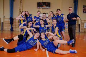 I LO w Kartuzach na podium Wojewódzkiej Licealiady w Koszykówce Kobiet