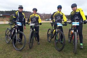 Dobre starty kartuskich kolarzy w MTB Pomerania w Luzinie i maratonie MTB w Gorznie