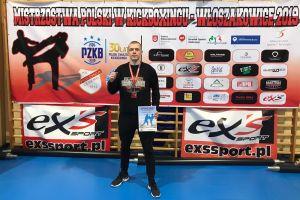 Nikodem Bigus i Rafał Jaszczuk z medalami Mistrzostw Polski w Kick - Boxingu Light - Contact