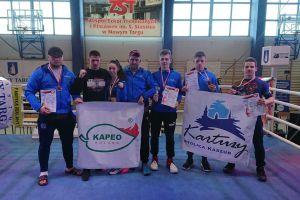 Kolejne złoto Armina Wilczewskiego i pięć innych medali Rebelii na Mistrzostwach Polski Low Kick 2019