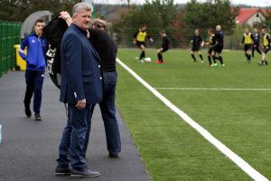 Kazimierz Mejer, prezes Raduni Stężyca: za rok otwarcie nowego stadionu, chcemy to uczcić awansem