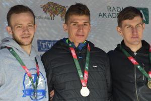 Wojciech Serkowski podwójnym medalistą Akademickich Mistrzostw Polski w Biegach Przełajowych