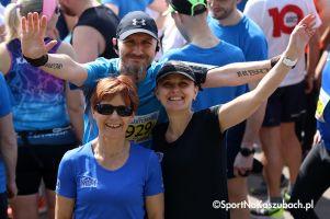 Kartuskie Biegi Uliczne 2019. Ponad 400 osób pobiegło w II Kartuskim Półmaratonie i III Kartuskiej '10