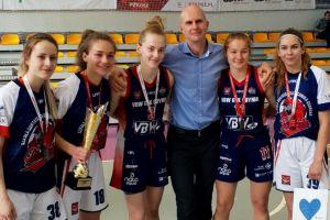 Pięć wychowanek Batu Kartuzy z medalami Mistrzostw Polski w Koszykówce Kobiet U18