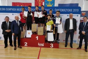 Dawid Michna z medalem mistrzostw Polski, Samuel Michna z dwoma tytułami mistrza Pomorza
