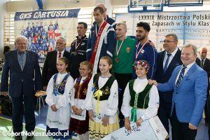 Mistrzostwa Polski Seniorów w Zapasach w Kiełpinie zakończone. Sahakyan ze złotem, Melkumov z brązem [ZDJĘCIA cz. 1]