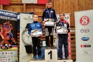Złoto, srebro i brąz zapaśników Moreny Żukowo na międzynarodowym turnieju w Czechach