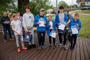 Cadety popłynęły o Puchar Jeziora Raduńskiego i Europy Centralnej
