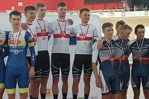 Złoto, srebro i brąz zawodników Cartusii Kartuzy w Młodzieżowych Mistrzostwach Polski w Kolarstwie Torowym