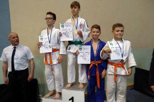 Osiem medali judoków GKS-u Żukowo w Majowym Turnieju Judo Dzieci i Młodzików w Jezierzycach