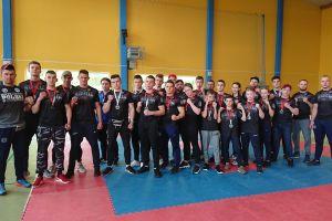 Doświadczeni i debiutujący zawodnicy Rebelii wygrywali w Mistrzostwach Województwa Pomorskiego w Kick - Boxingu