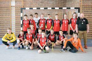Gospodarze z GKS-u wygrali Turniej Piłki Ręcznej o Puchar Dyrektora OKiS-u w Żukowie