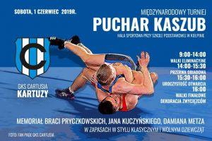 Puchar Kaszub w Zapasach 2019 w sobotę w Kiełpinie. Powalczą młodzicy, kadeci i dziewczyny