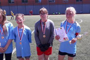 SP Somonino wygrała wojewódzki finał Igrzysk Dzieci w Piłce Nożnej Dziewcząt