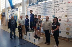 Cartusia zdobyła Międzynarodowy Puchar Kaszub w Zapasach
