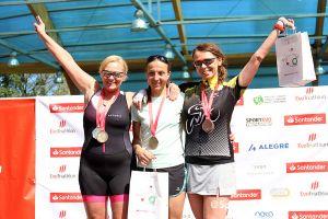 Triathlon MTB i Duathlon MTB Kartuzy. Jakub Krzemiński i Adam Deyk najszybsi na Złotej Górze [GALERIA nr 1]